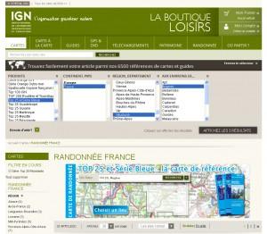 Quelle: © l'Institut national de l'information géographique et forestière (IGN), http://loisirs.ign.fr/cartes/randonnee-france.html?dir=desc&ign_serie=5447&order=ign_ordre_plus_consultes [20.06.2013]