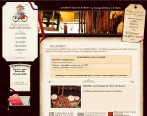 """Die Charcuterie """"La Brindille Melchio"""" bietet die """"Spécialité de Saucisses de Banon"""", meterlange, dünne Würste. http://www.charcuterie-melchio.fr/produits.php [04.11.2013]"""